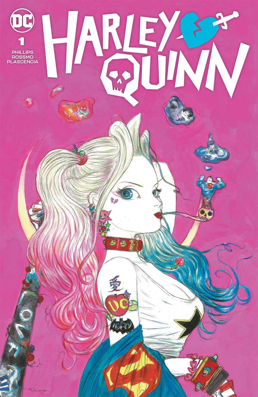 Harley Quinn Vol 4 #1 Cover D Variant Yoshitaka Amano Team Cover