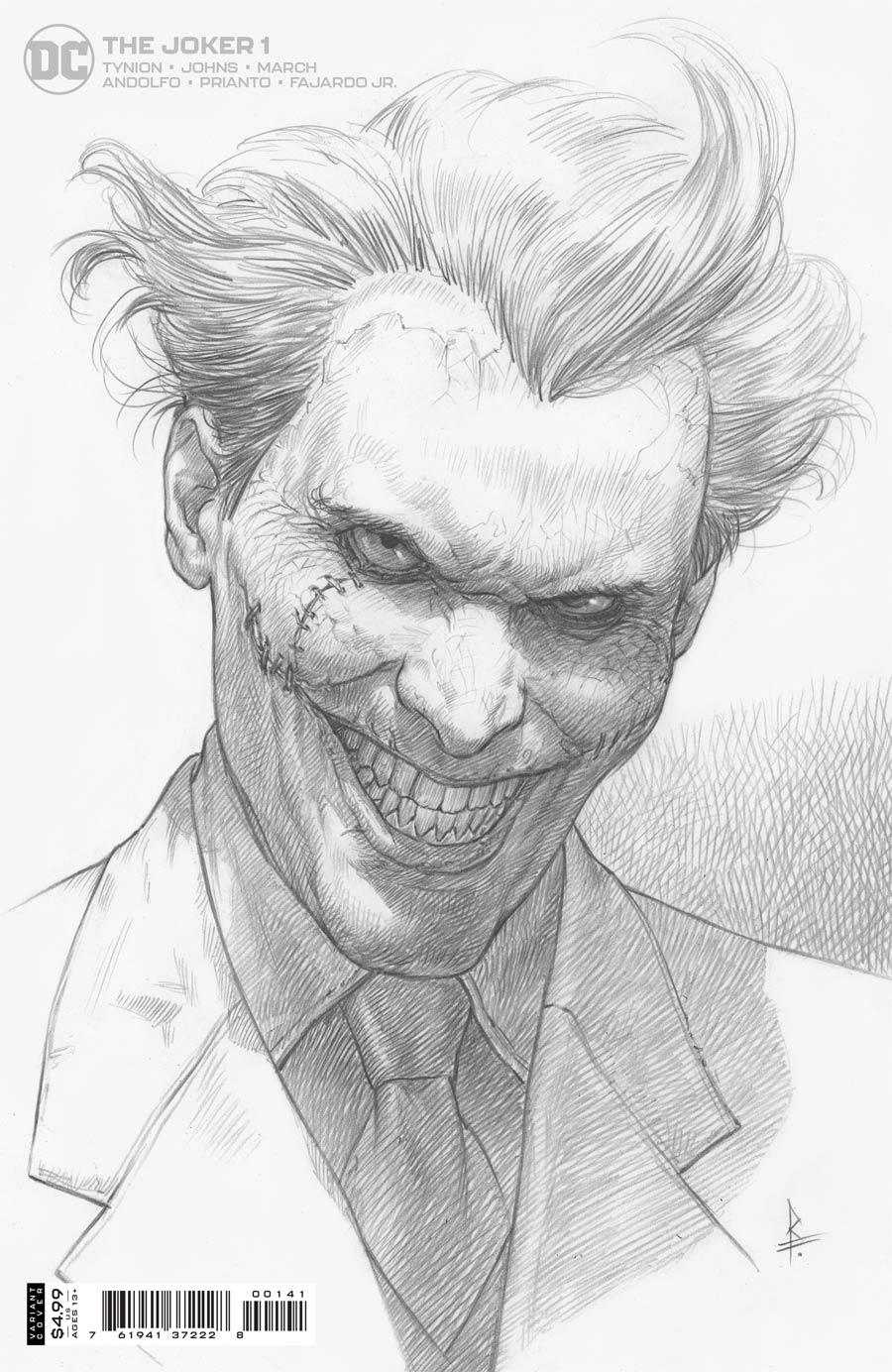 Joker Vol 2 #1 Cover F Incentive Riccardo Federici Variant Cover