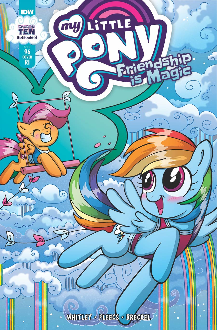 My Little Pony Friendship Is Magic #96 Cover C Incentive Mary Bellamy Variant Cover