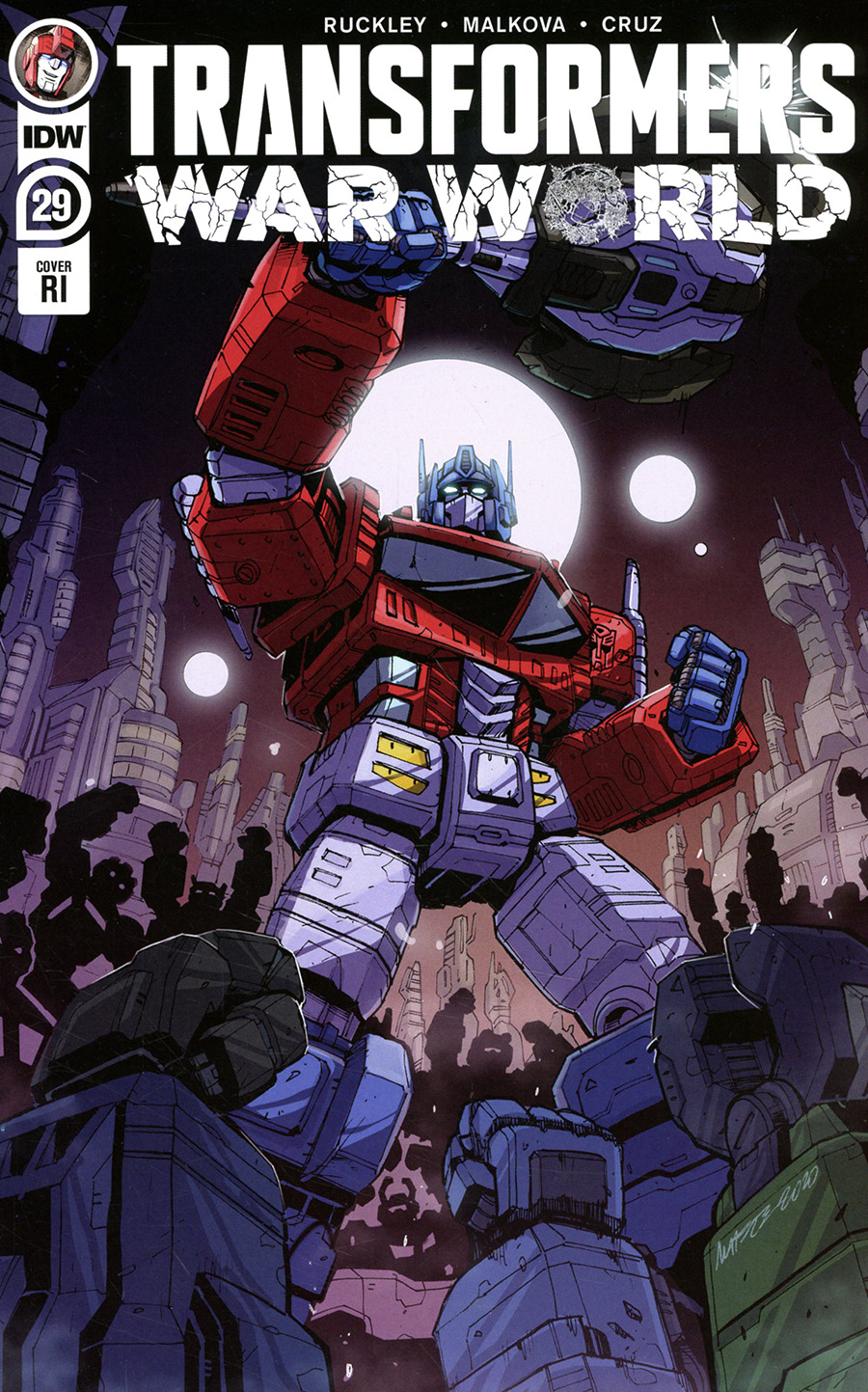 Transformers Vol 4 #29 Cover C Incentive Marcelo Matere Variant Cover