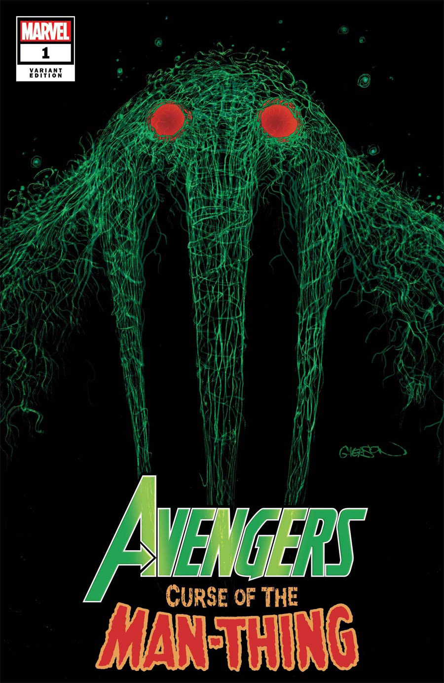 Avengers Curse Of The Man-Thing #1 (One Shot) Cover D Variant Patrick Gleason Webhead Cover