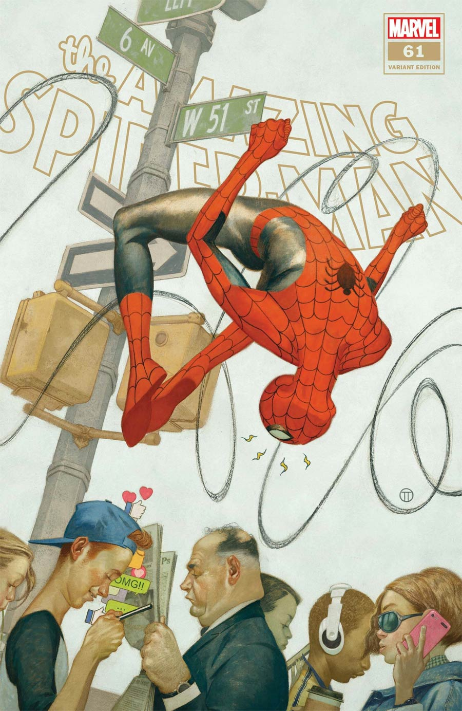 Amazing Spider-Man Vol 5 #61 Cover C Incentive Julian Totino Tedesco Variant Cover