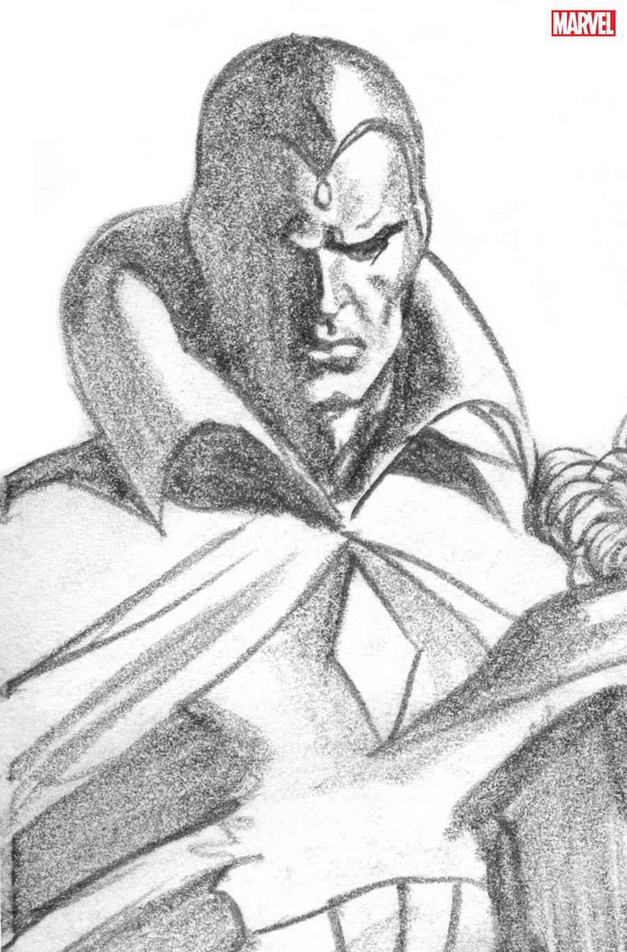 Avengers Vol 7 #43 Cover G Incentive Alex Ross Timeless Sketch Cover