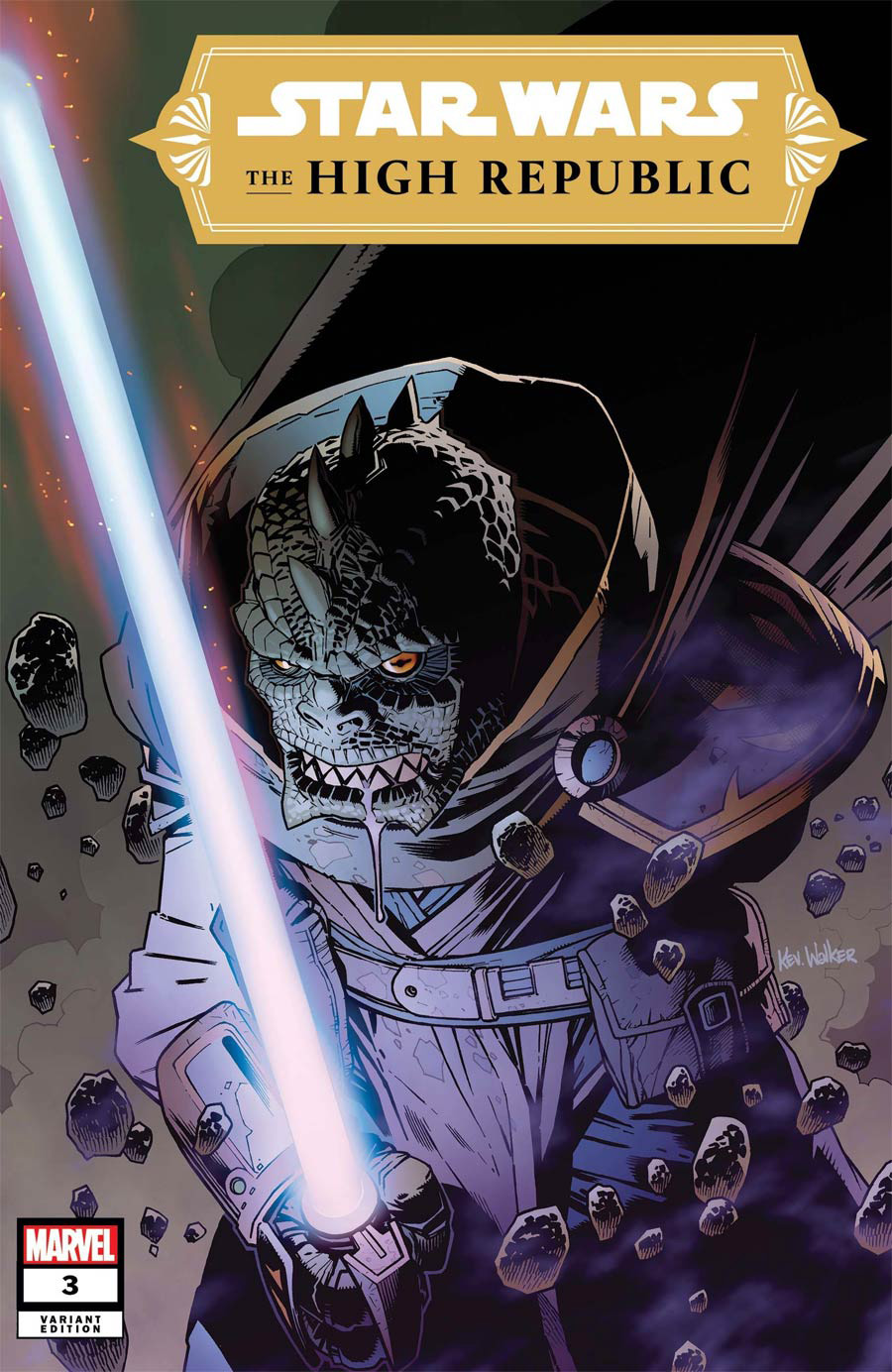Star Wars High Republic #3 Cover B Incentive Kev Walker Variant Cover