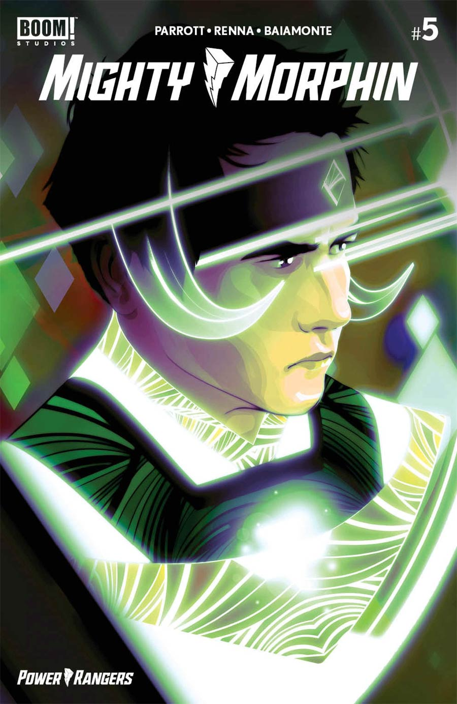 Mighty Morphin #5 Cover F Incentive Goni Montes Variant Cover