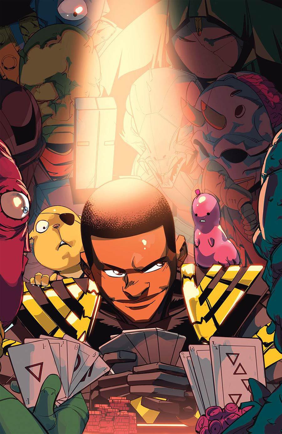 Power Rangers #5 Cover E Incentive Daniele di Nicuolo Variant Cover