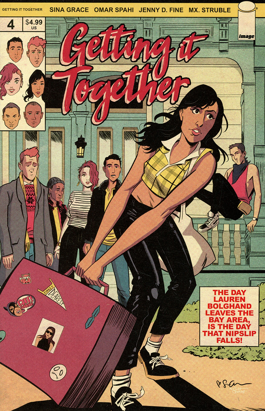Getting It Together #4 Cover B Variant Sina Grace Cover