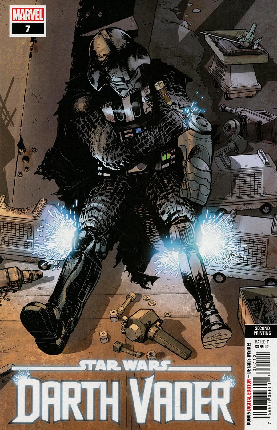 Star Wars Darth Vader #7 Cover C 2nd Ptg Variant Cover