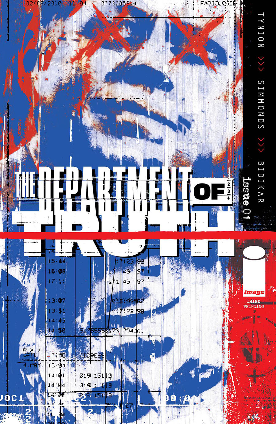 Department Of Truth #1 Cover K 3rd Ptg