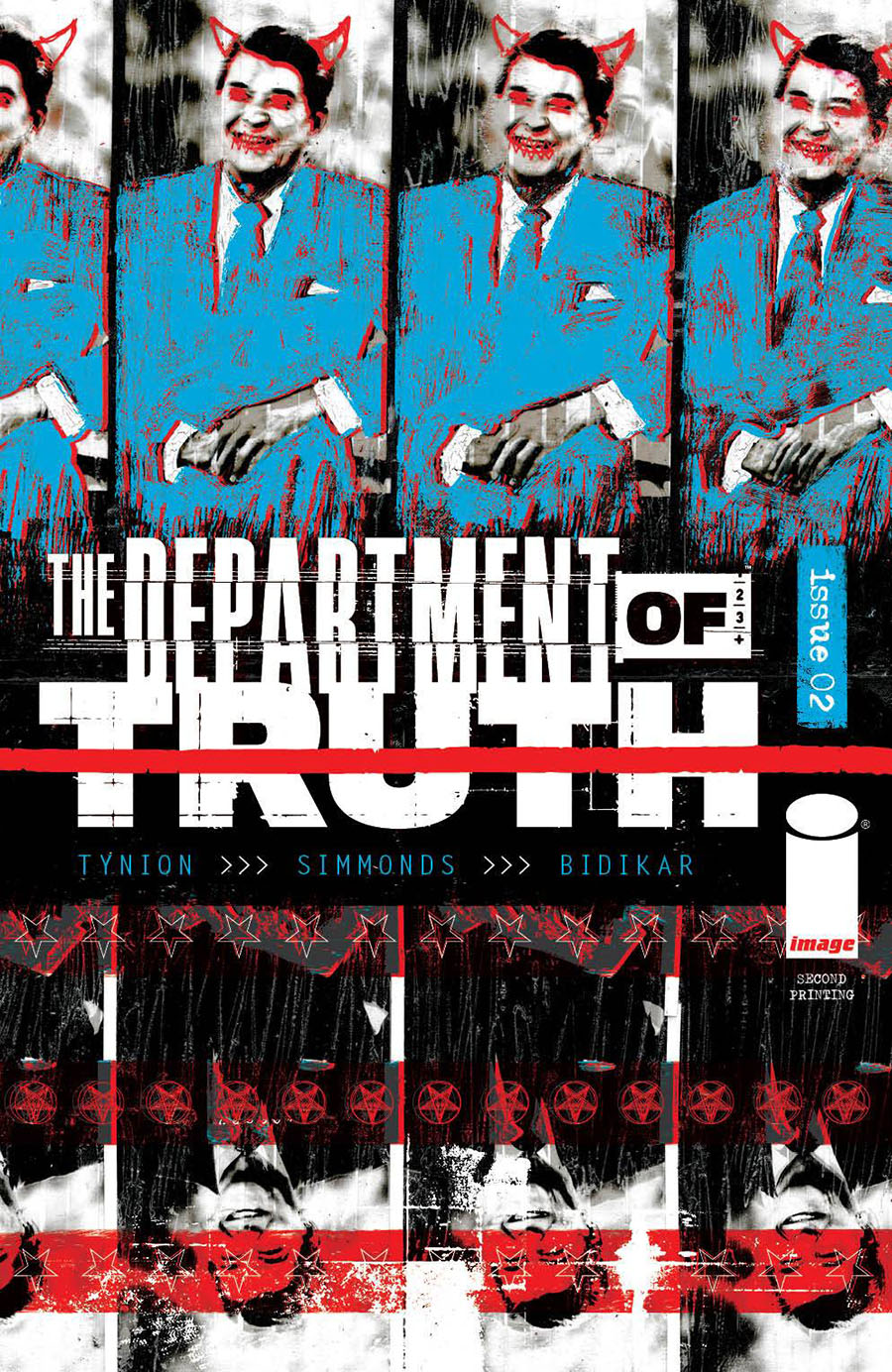 Department Of Truth #2 Cover H 2nd Ptg