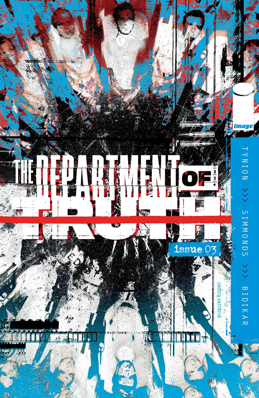 Department Of Truth #3 Cover E 2nd Ptg