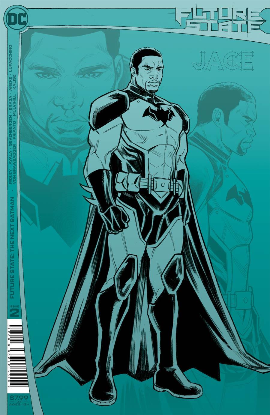 Future State The Next Batman #2 Cover E 2nd Ptg Laura Braga Design Variant Cover