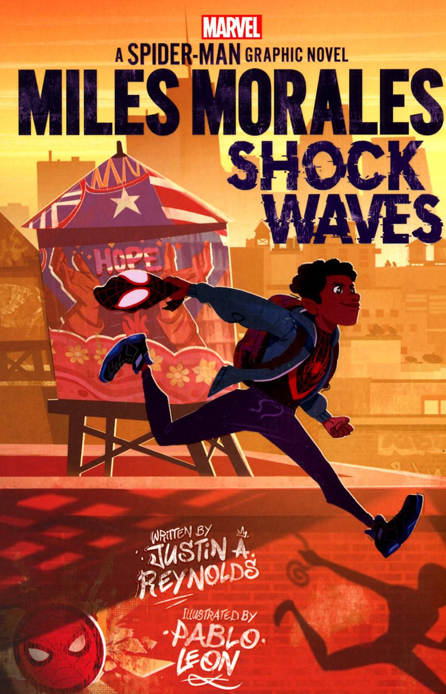 Miles Morales Shock Waves A Spider-Man Graphic Novel TP