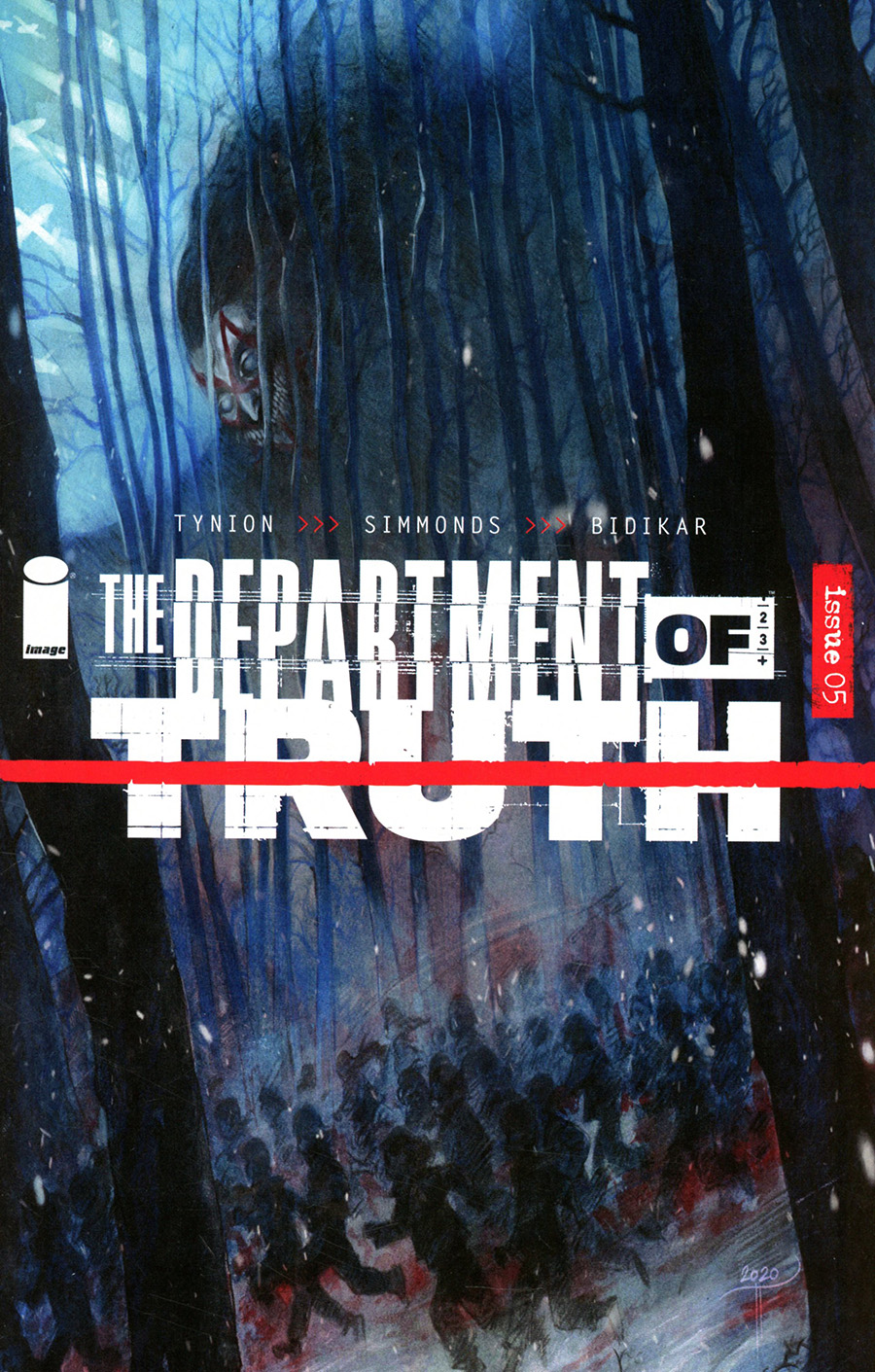 Department Of Truth #5 Cover D Variant Tiffany Turrill Cover