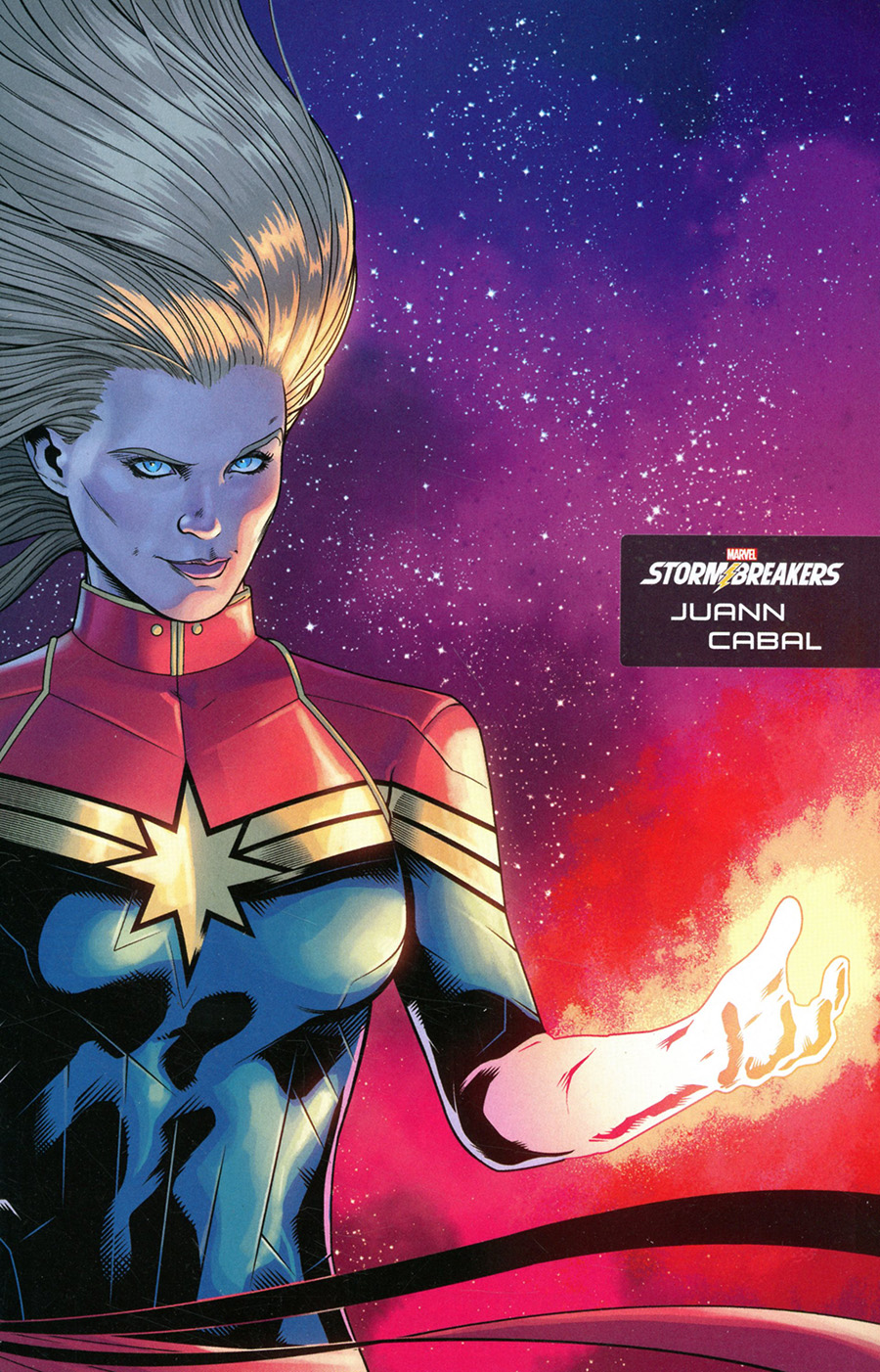 Captain Marvel Vol 9 #25 Cover C Incentive Juann Cabal Stormbreakers Variant Cover