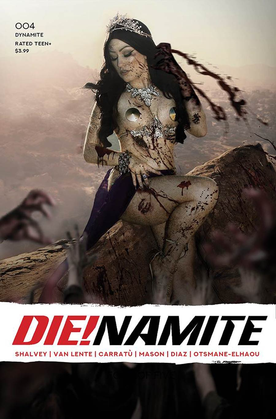 DieNamite #4 Cover F Variant Rachel Hollon Zombie Cosplay Photo Cover