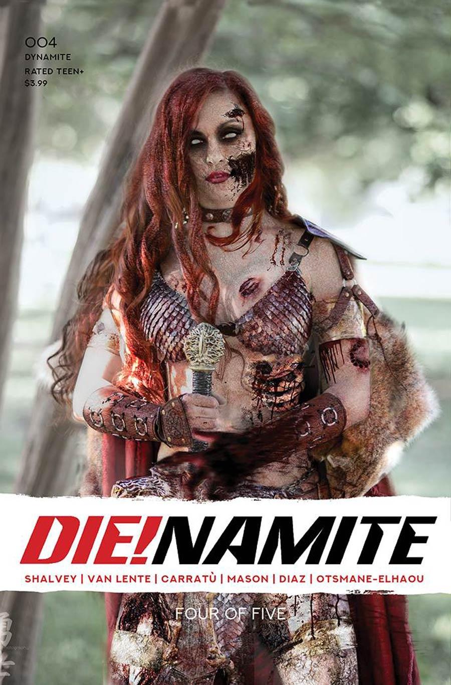 DieNamite #4 Cover G Variant Savannah Polson Zombie Cosplay Photo Cover