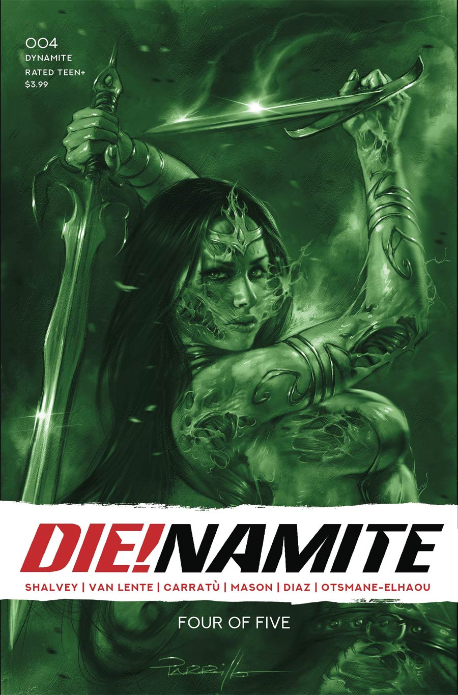 DieNamite #4 Cover T Incentive Lucio Parrillo Tint Cover