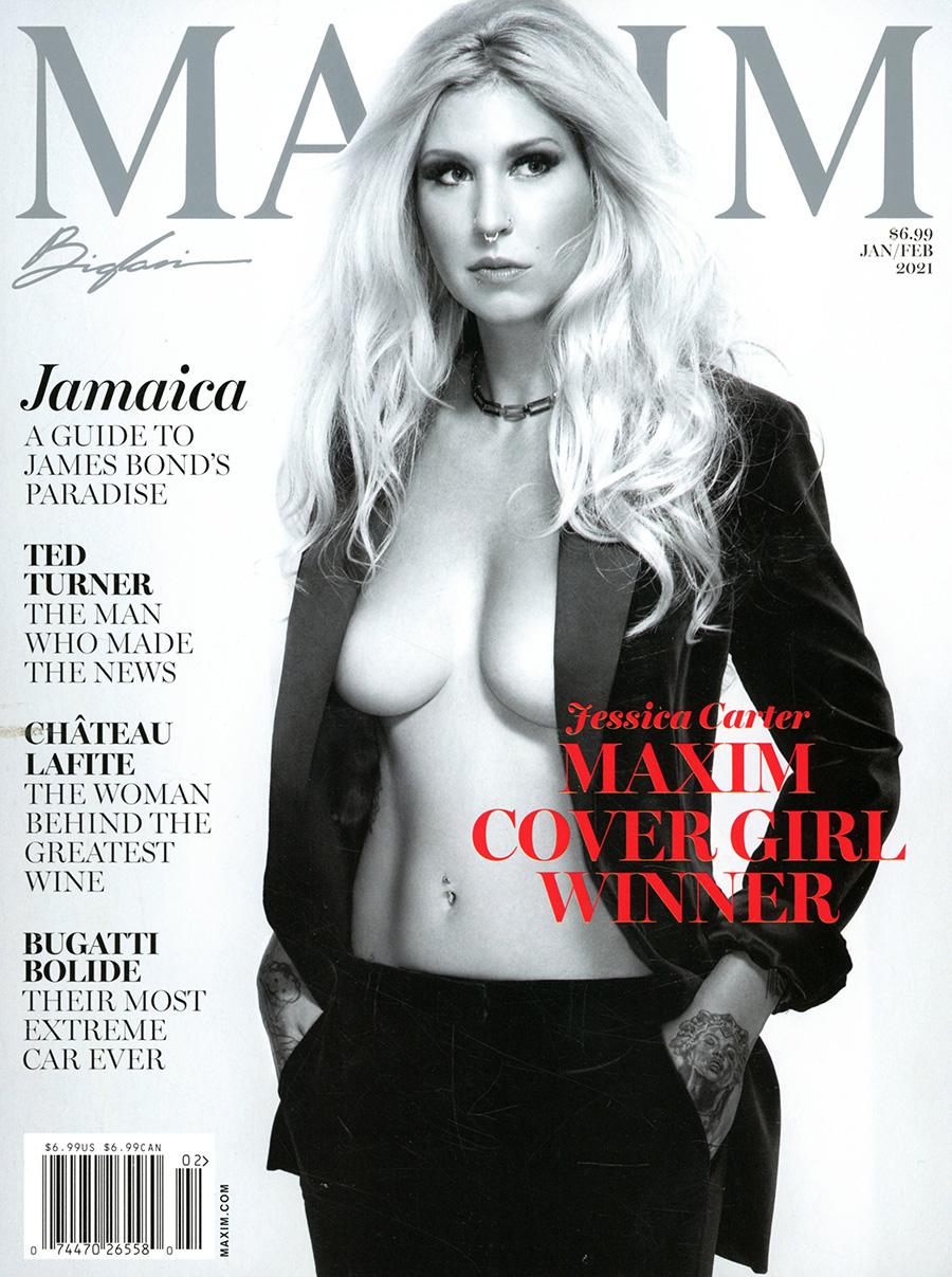 Maxim Magazine #248 Vol 25 #1 January / February 2021