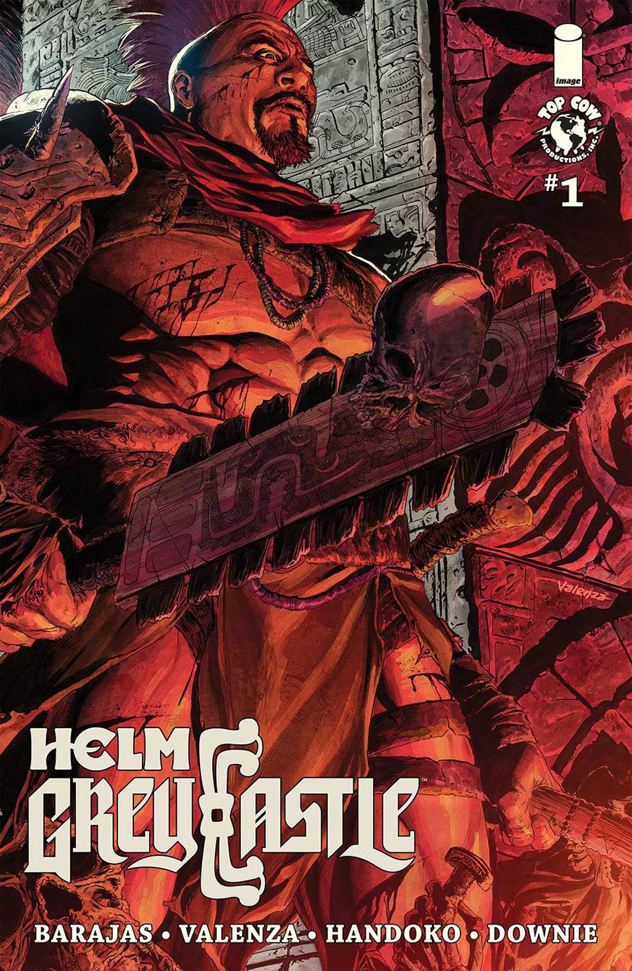 Helm Greycastle #1 Cover C Variant Tony Parker Cover