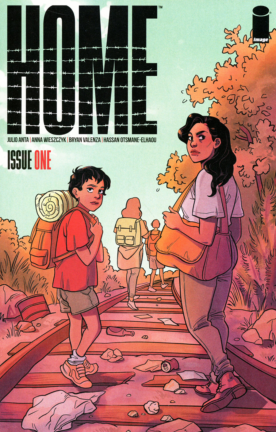 Home (Image Comics) #1 Cover A Regular Lisa Sterle Cover
