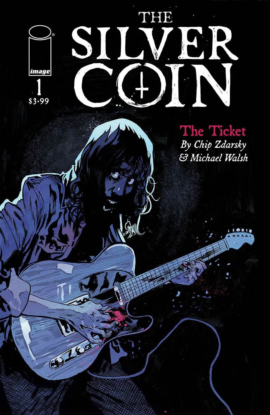 Silver Coin #1 Cover A Regular Michael Walsh Cover (Limit 1 Per Customer)