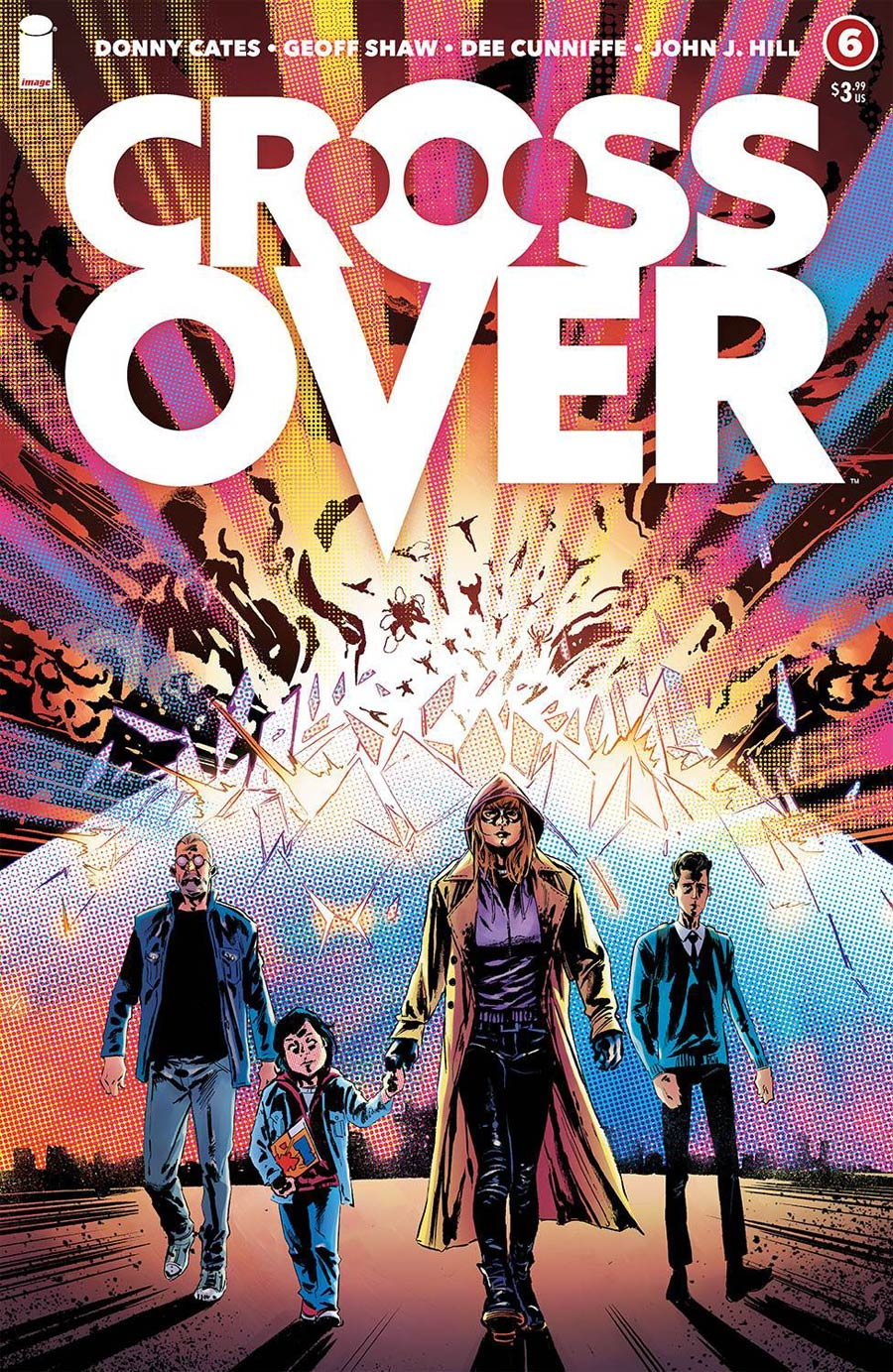 Crossover #6 Cover A Regular Geoff Shaw Cover