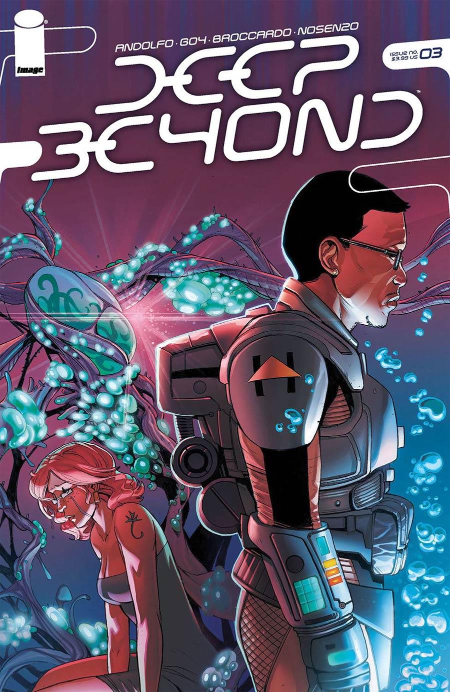 Deep Beyond #3 Cover A Regular Andrea Broccardo Cover