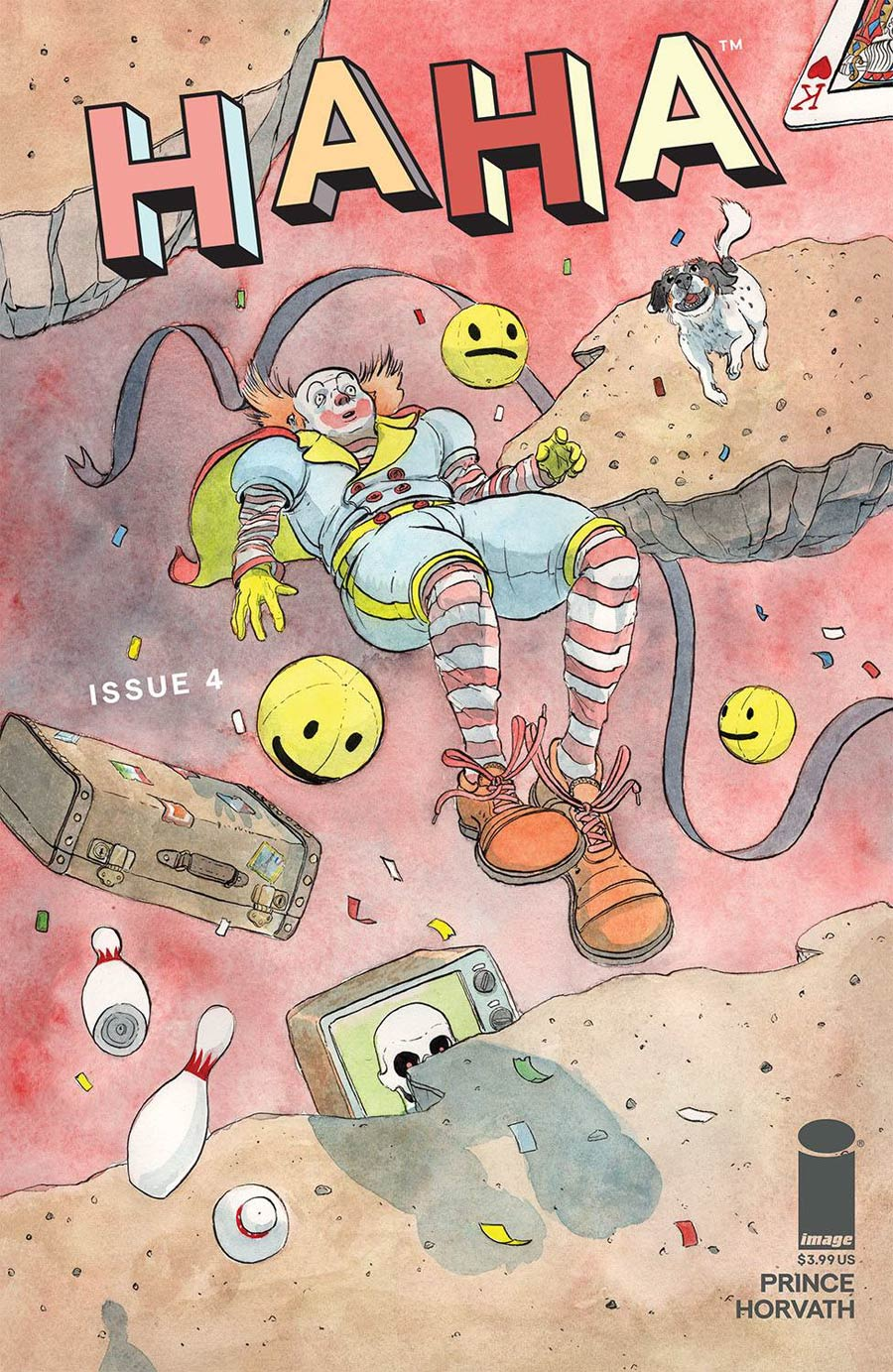 HAHA #4 Cover A Regular Patrick Horvath Cover