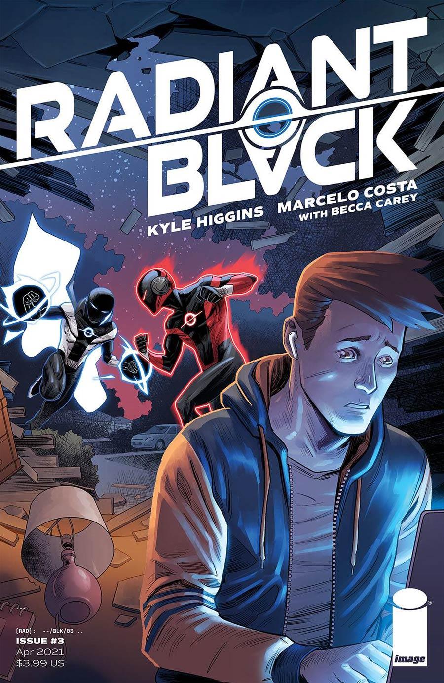 Radiant Black #3 Cover A Regular Marcelo Costa Cover