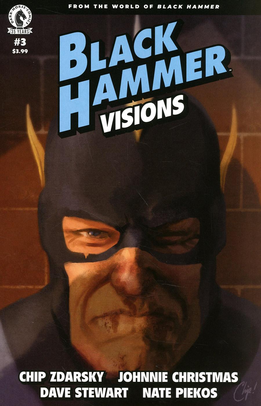 Black Hammer Visions #3 Cover A Regular Chip Zdarsky Cover