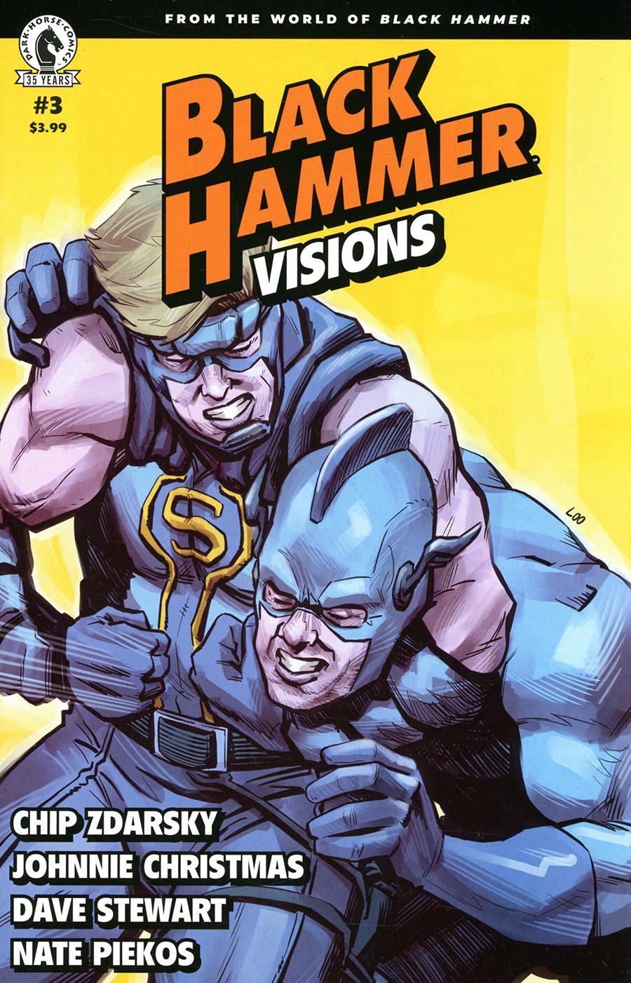 Black Hammer Visions #3 Cover B Variant Jason Loo Cover