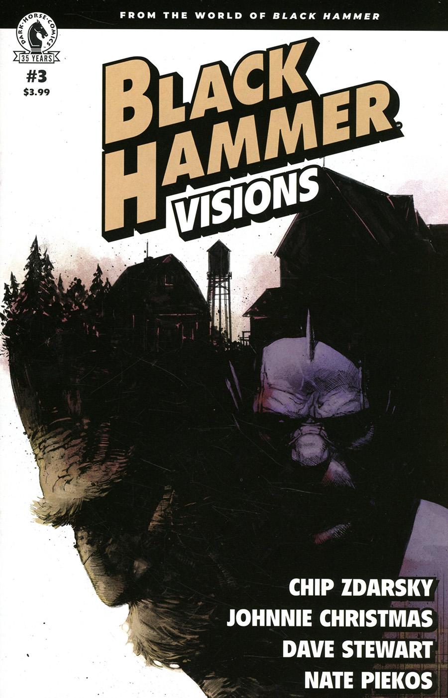 Black Hammer Visions #3 Cover C Variant Gerardo Zaffino Cover