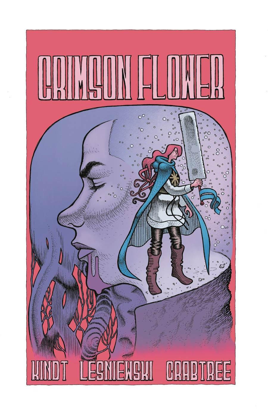 Crimson Flower #4 Cover A Regular Matt Lesniewski Cover