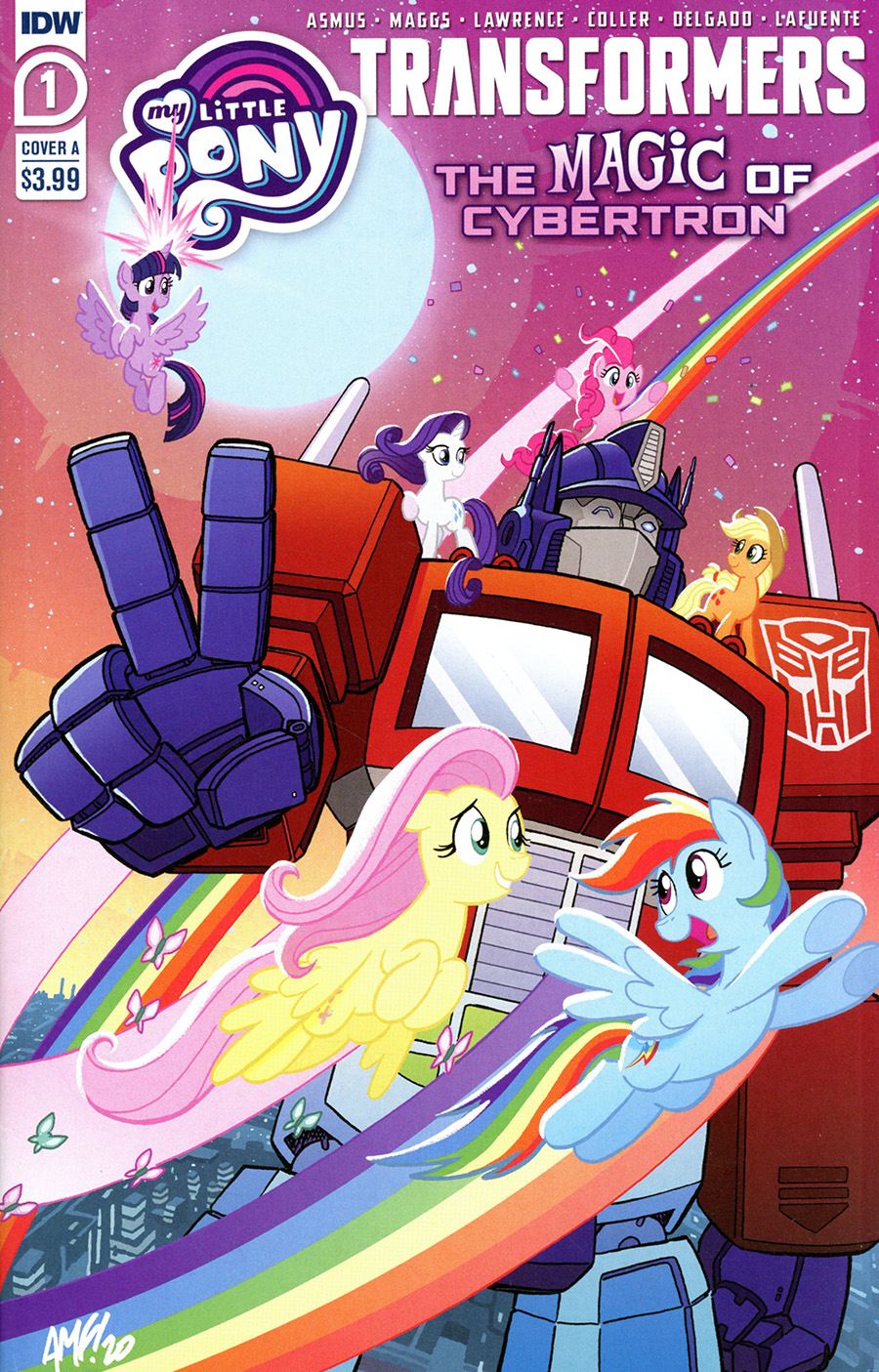 My Little Pony Transformers Friendship In Disguise II #1 Cover A Regular Tony Fleecs Cover