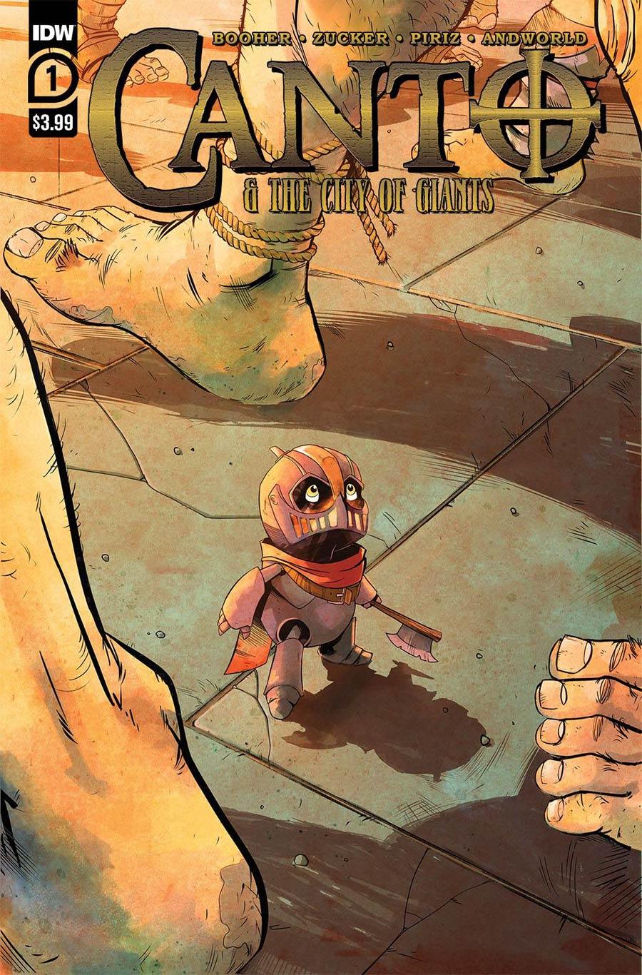 Canto & The City Of Giants #1 Cover A Regular Sebastian Piriz Cover