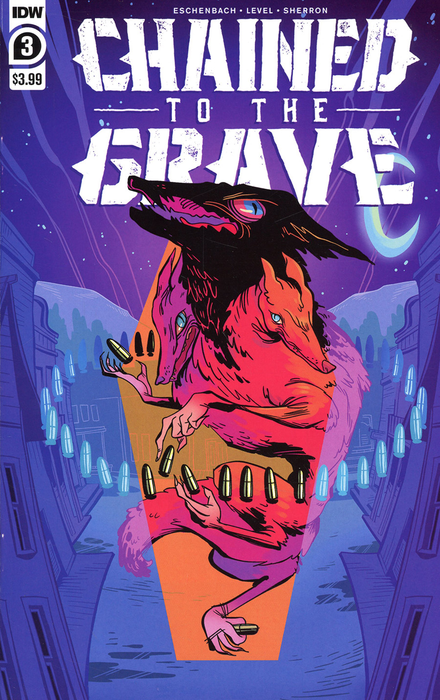 Chained To The Grave #3 Cover A Regular Kate Sherron Cover
