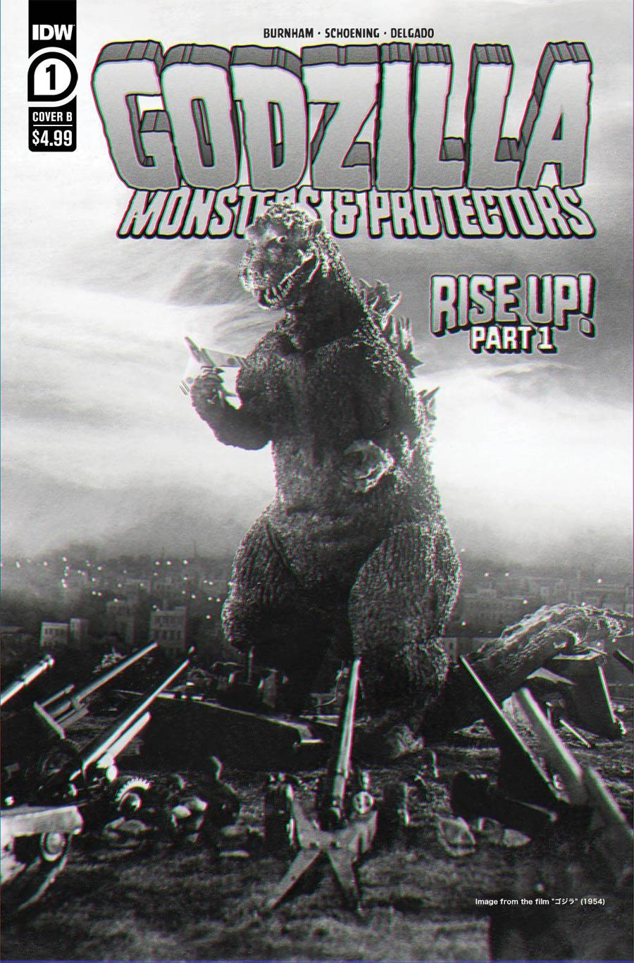 Godzilla Monsters & Protectors #1 Cover B Variant Photo Cover
