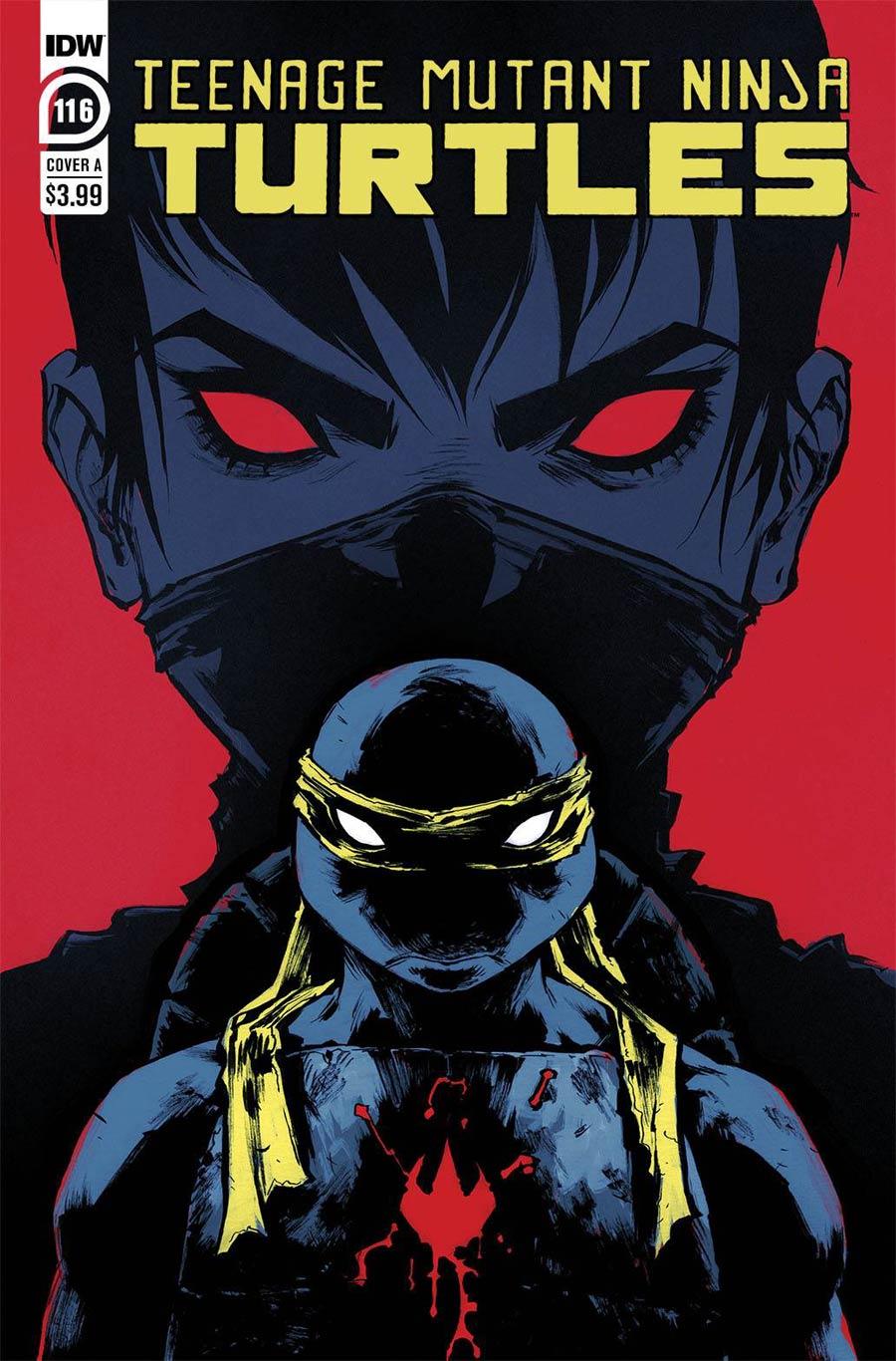 Teenage Mutant Ninja Turtles Vol 5 #116 Cover A Regular Sophie Campbell Cover