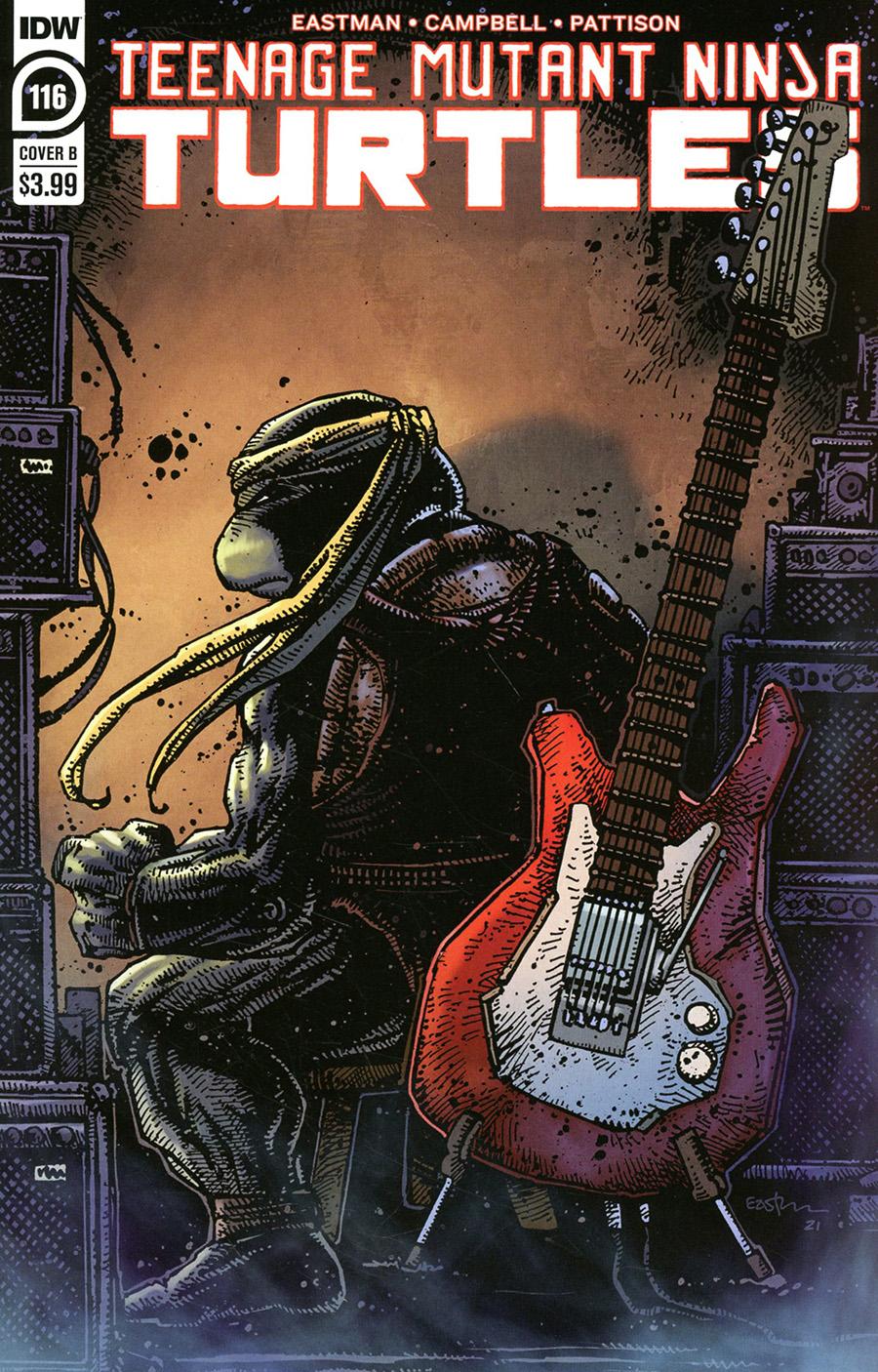 Teenage Mutant Ninja Turtles Vol 5 #116 Cover B Variant Kevin Eastman Cover