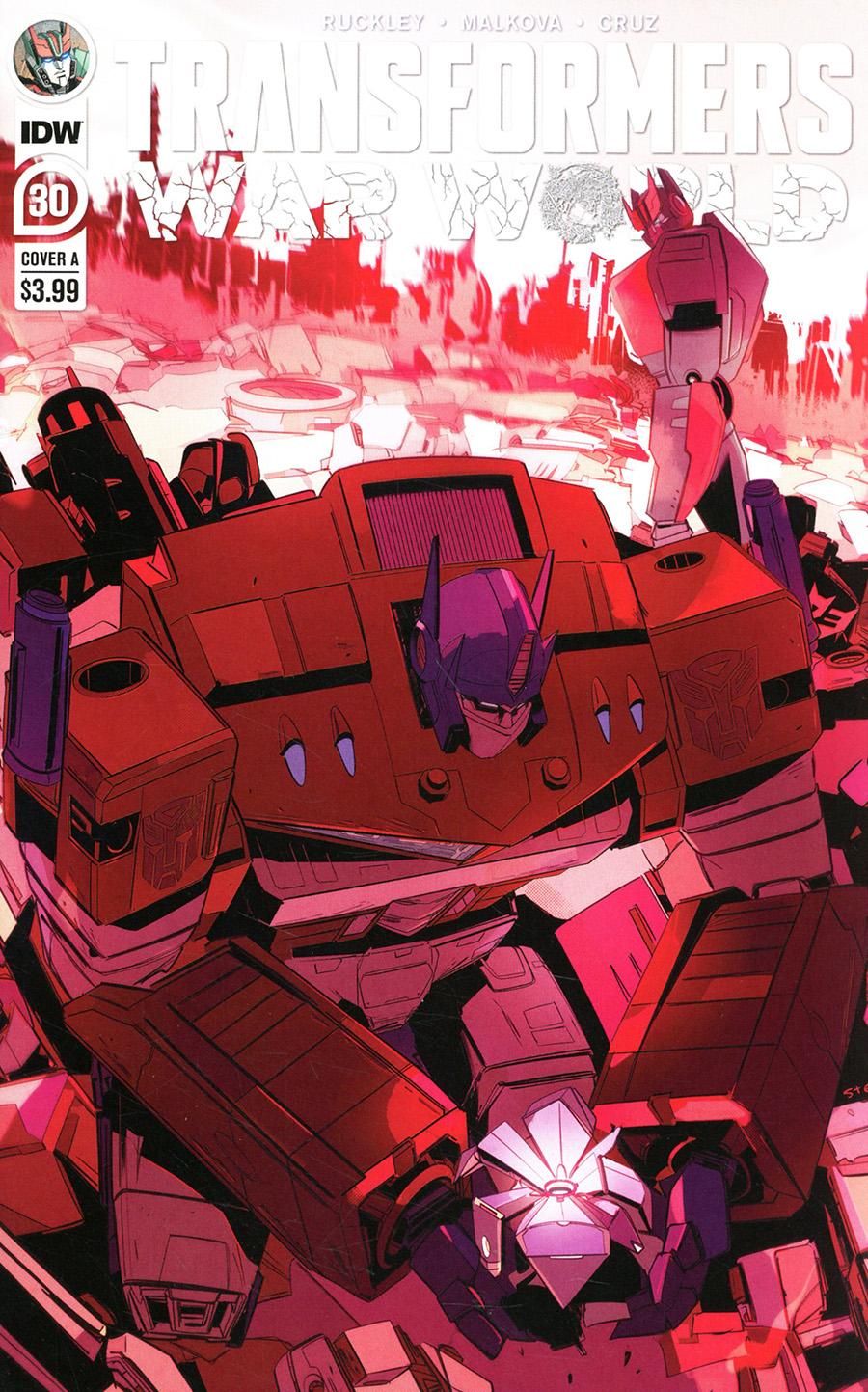 Transformers Vol 4 #30 Cover A Regular Stefano Simeone Cover