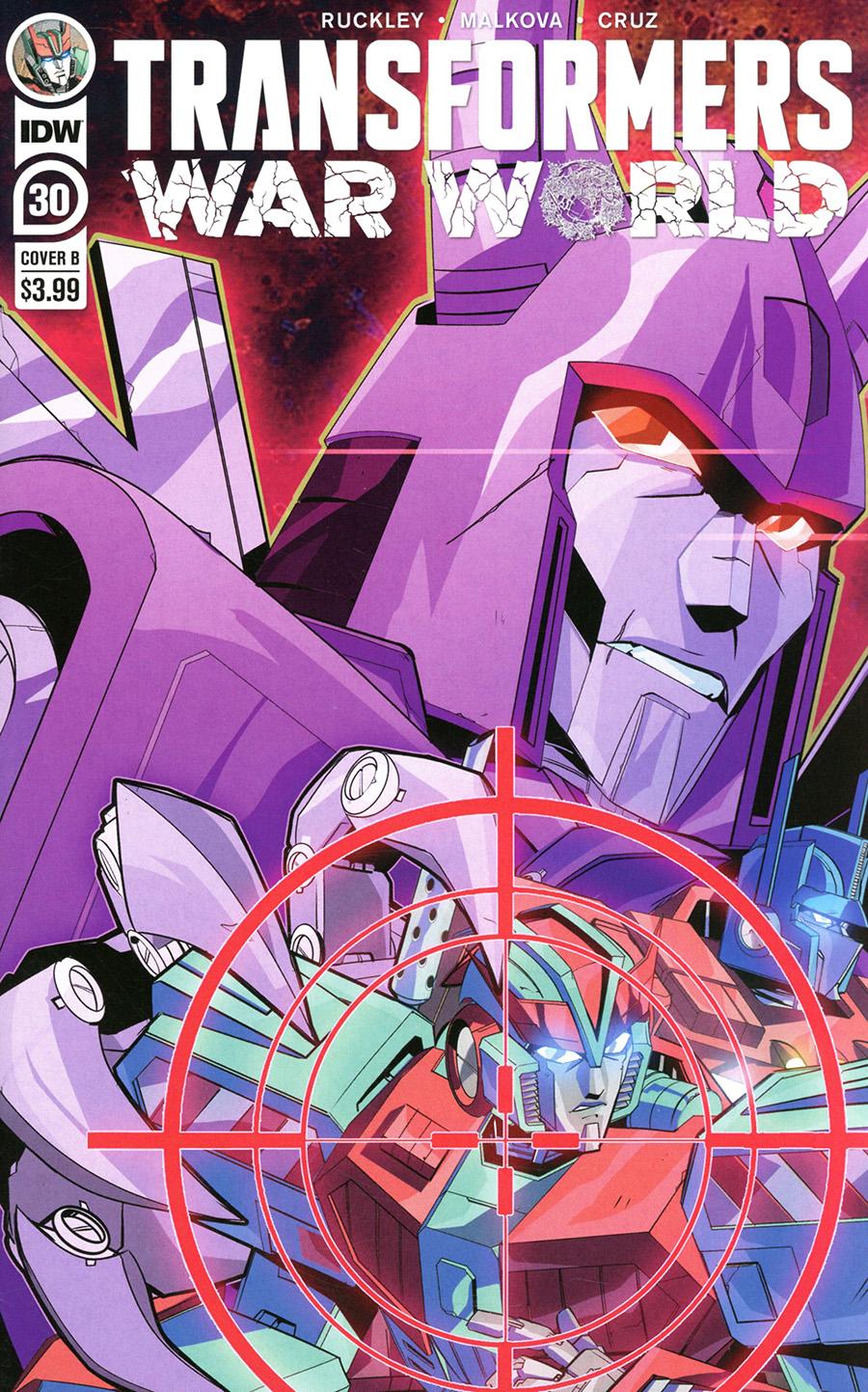 Transformers Vol 4 #30 Cover B Variant Priscilla Tramontano Cover