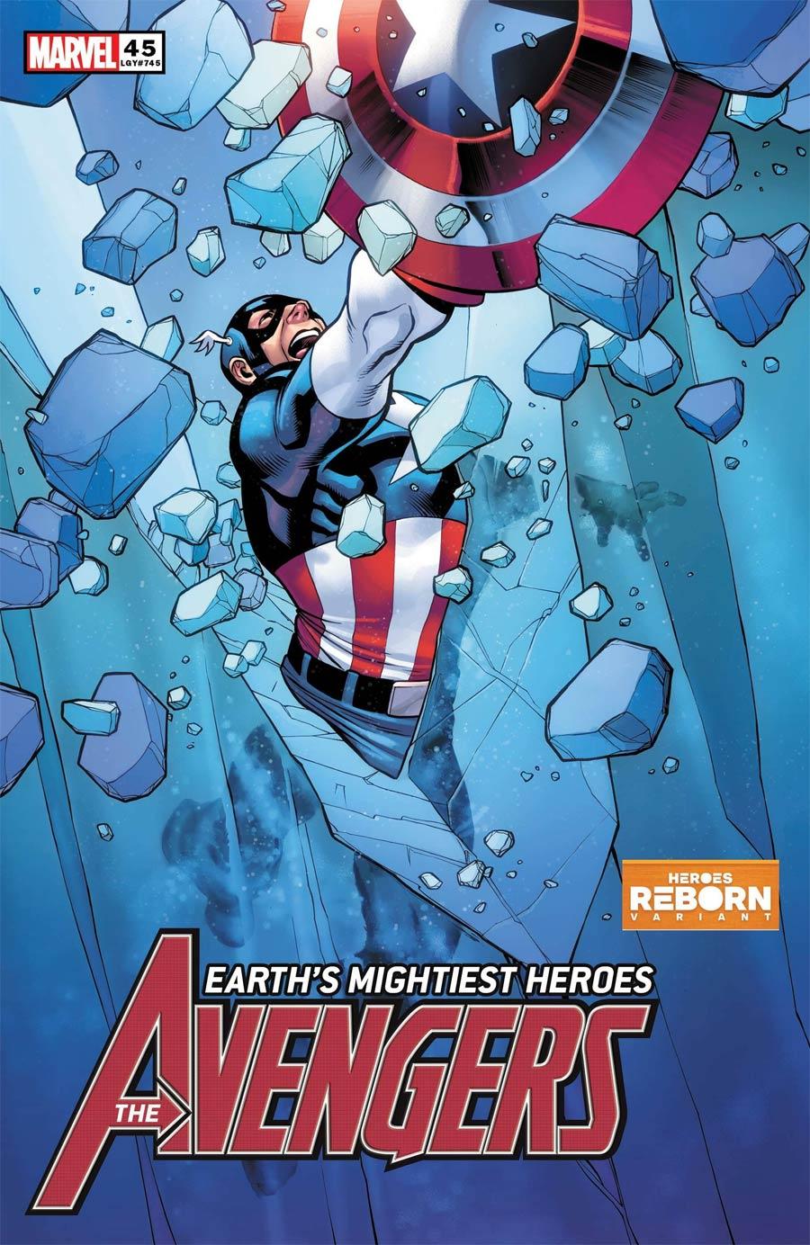 Avengers Vol 7 #45 Cover B Variant Carlos Pacheco Heroes Reborn Cover (King In Black Tie-In)