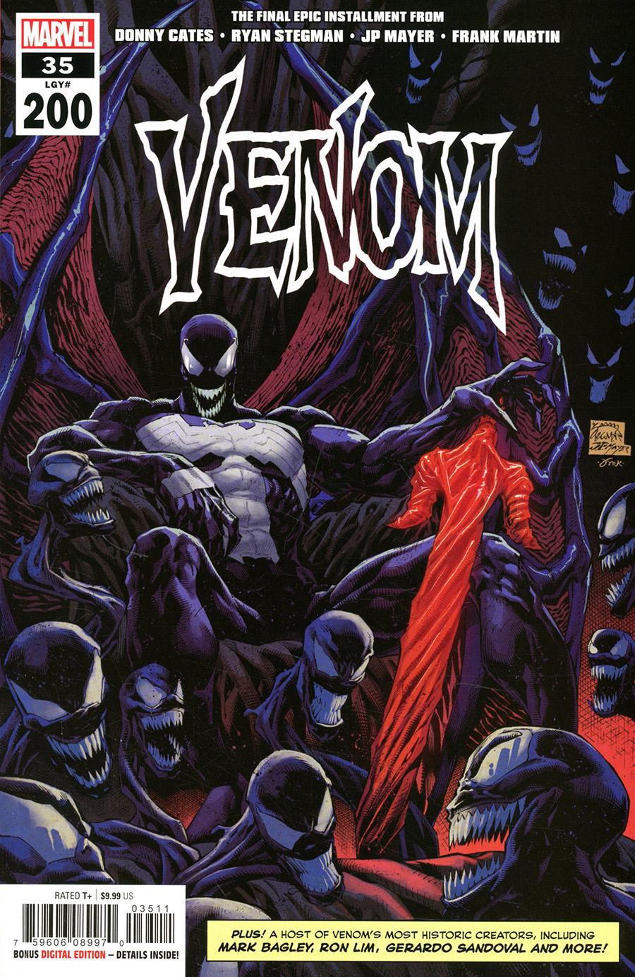 Venom Vol 4 #35 Cover A Regular Ryan Stegman Cover (#200)