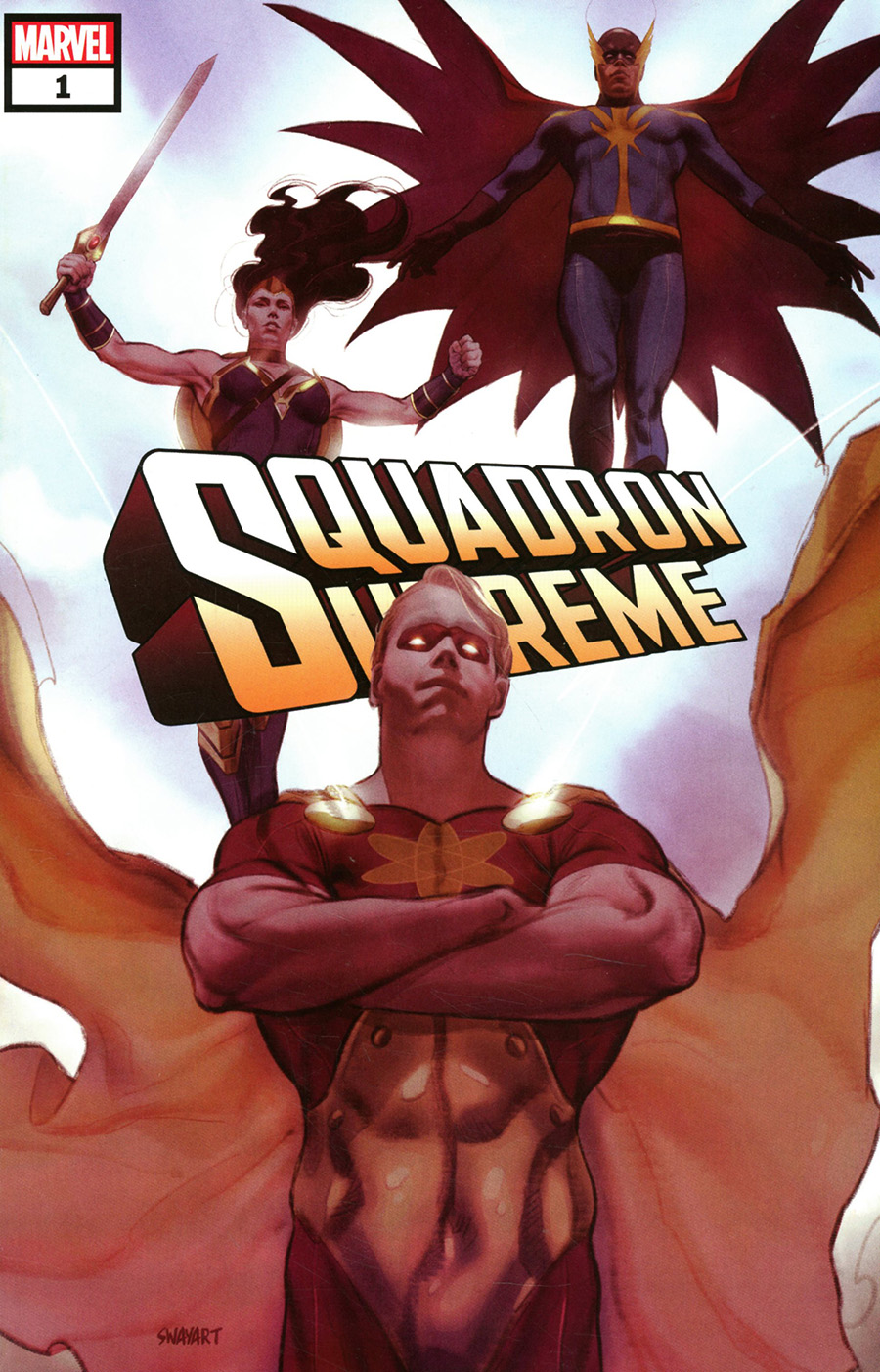 Squadron Supreme Marvel Tales #1 (One Shot) Cover A Regular Joshua Sway Swaby Cover