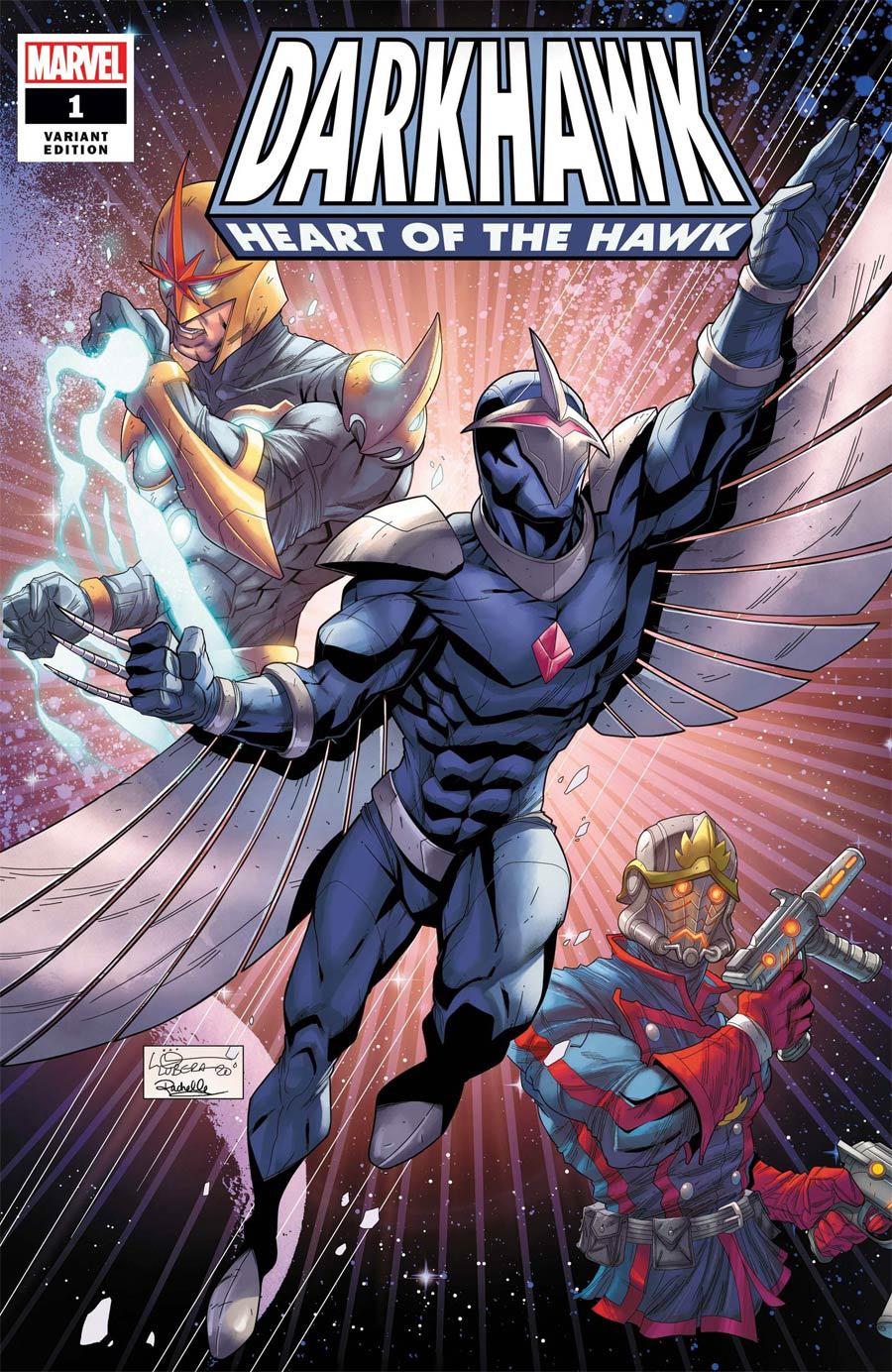 Darkhawk Heart Of The Hawk #1 (One Shot) Cover B Variant Logan Lubera Cover