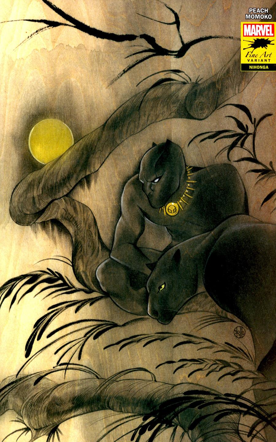 Black Panther Vol 7 #25 Cover K Variant Peach Momoko Stormbreakers Cover