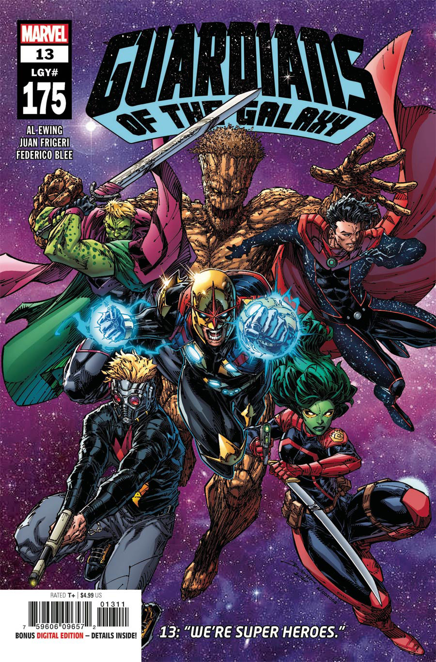 Guardians Of The Galaxy Vol 6 #13 Cover A Regular Brett Booth Cover