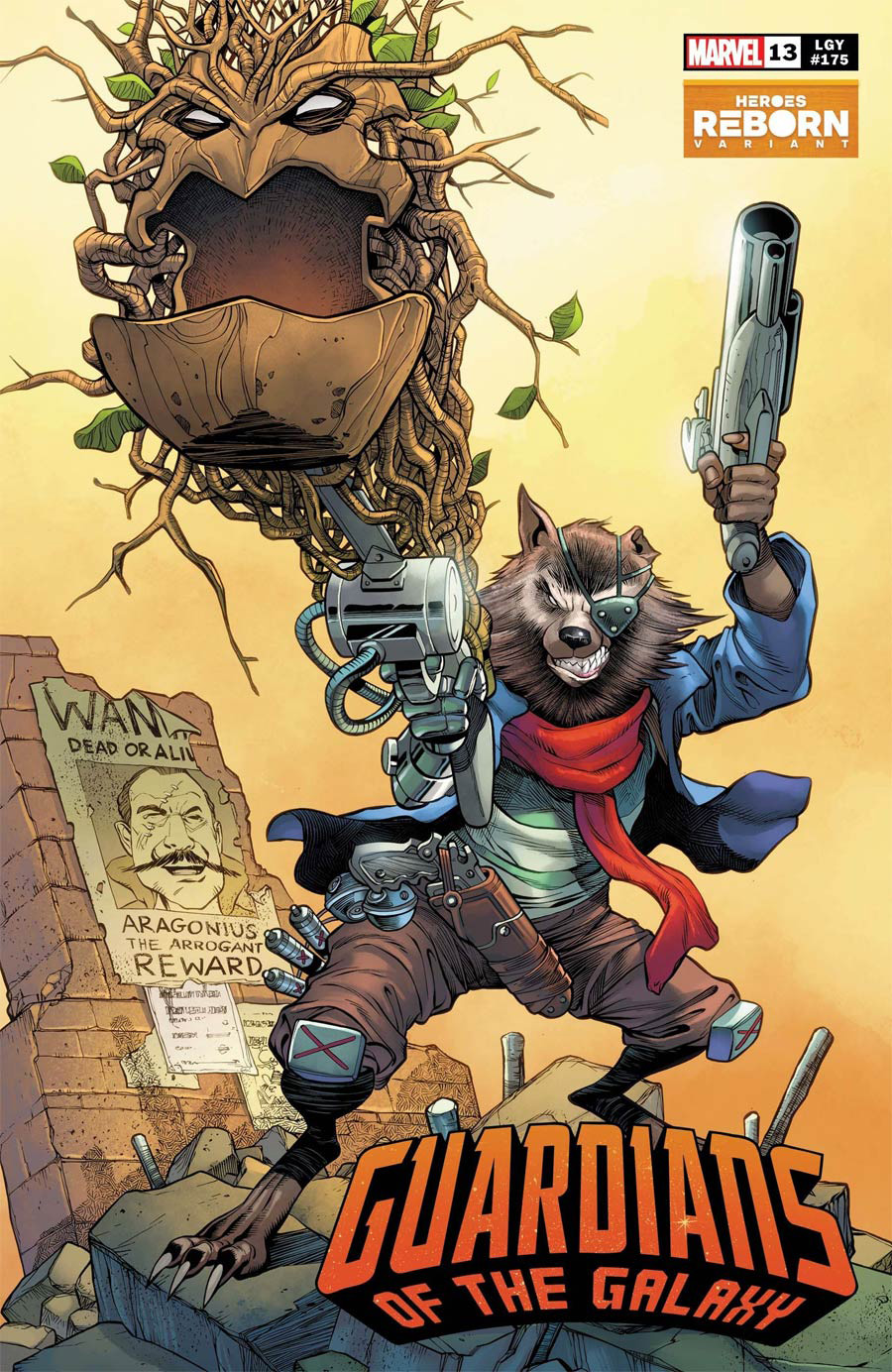 Guardians Of The Galaxy Vol 6 #13 Cover B Variant Carlos Pacheco Heroes Reborn Cover