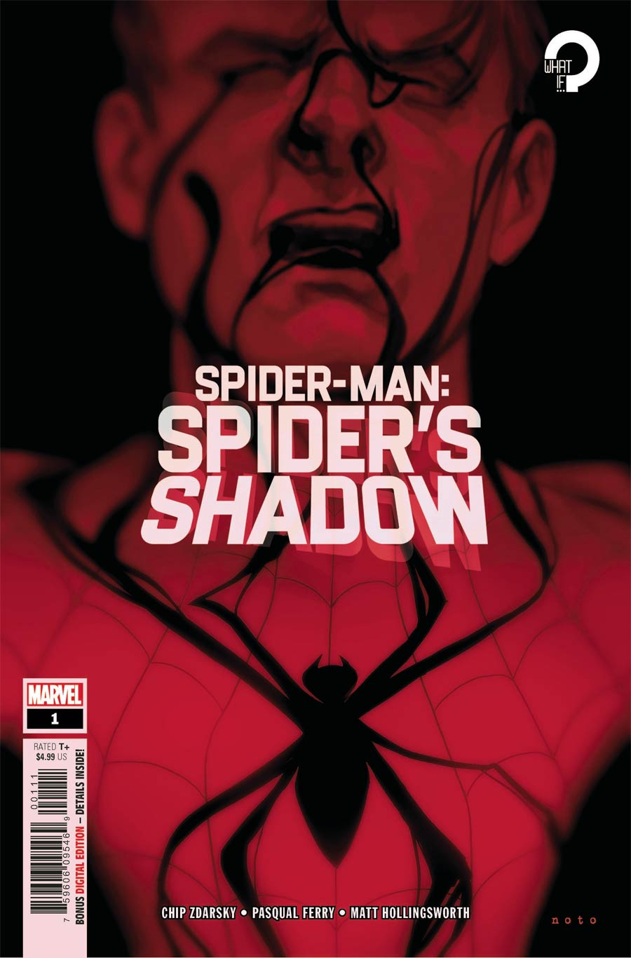 Spider-Man Spiders Shadow #1 Cover A Regular Phil Noto Cover